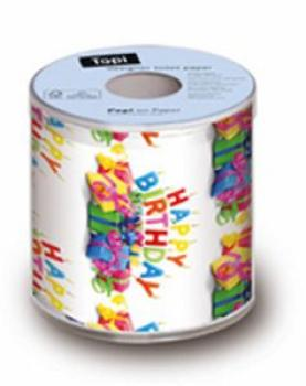 Happy Birthday bunt - Toilettenpapier