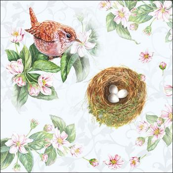 Watching Nest - Servietten 33x33 cm