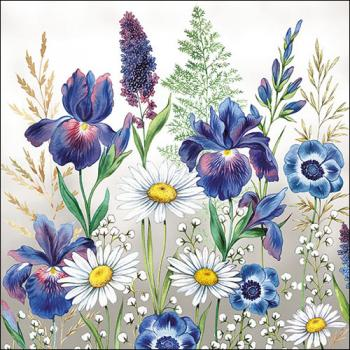Mixed Meadow Flowers - Servietten 33x33 cm