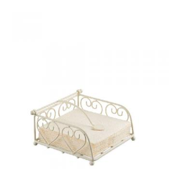 Heart small cream - Serviettenhalter