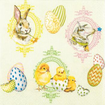 Easter Mix - Servietten 33x33 cm
