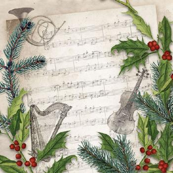 Christmas Song - Servietten 25x25 cm