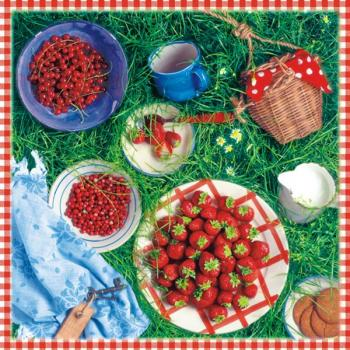 Berry Season - Servietten 33x33 cm