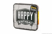 Bierdeckel Happy Birthday 6er Set