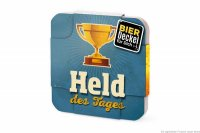 Bierdeckel Held des Tages 6er Set