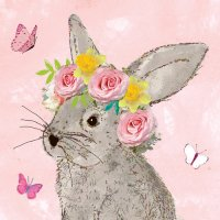Easter beauty Hase Servietten 33x33 cm