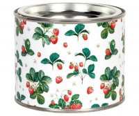 Dosenkerze Erdbeeren Pattern Duft strawberry