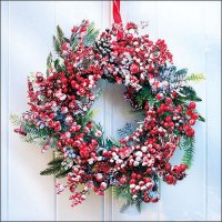 Frozen Wreath - Servietten 33x33 cm