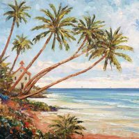 Palm Beach Servietten 33x33 cm