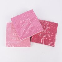 You Sprücheservietten pink 33x33 cm - 3er Set