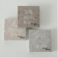 You Spruchservietten - Servietten 33x33 cm - 3er Set