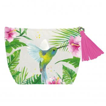 Tropical Hummingbird - Beauty Bag