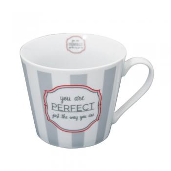 You are perfekt – Happy cup Krasilnikoff Tasse
