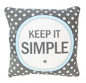 Keep it simple – Cushion cover Krasilnikoff Kissenbezug