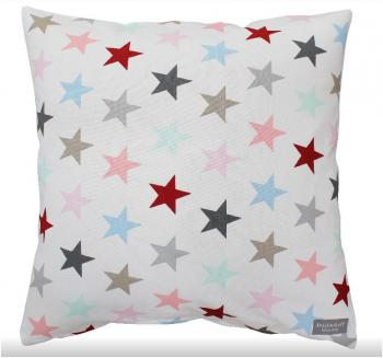 Multi white star – Cushion cover Krasilnikoff Kissenbezug