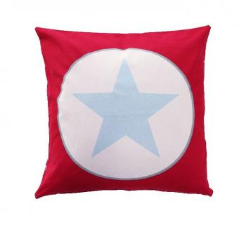 Red big star – Cushion cover Krasilnikoff Kissenbezug