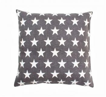Star charcoal – Cushion cover Krasilnikoff Kissenbezug