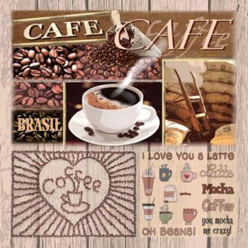 Coffee Variations – Servietten 25x25 cm