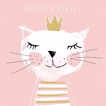 Happy Birthday Princess - Servietten 25x25 cm