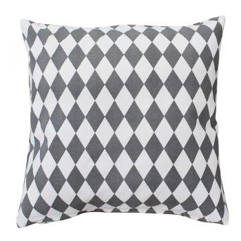 Big Harlekin charcoal – Cushion cover Krasilnikoff Kissenbezug