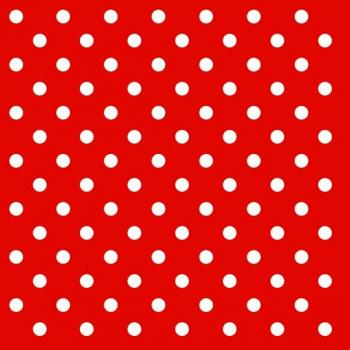Dots red | Punkte rot - Servietten 33x33 cm