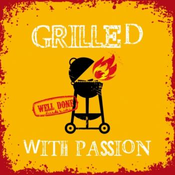 Grilled with Passion orange - Servietten 33x33 cm