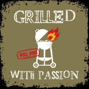 Grilled with Passion khaki - Servietten 33x33 cm