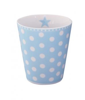 Happy Mugs - dot baby blue