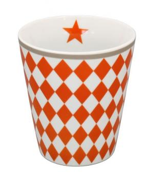Happy Mugs - Harlekin orange