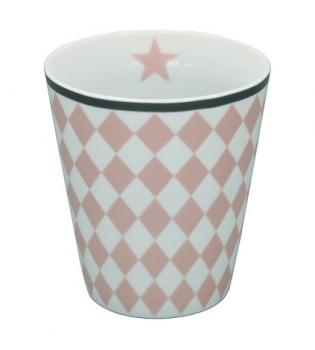 Happy Mugs - Harlekin pink