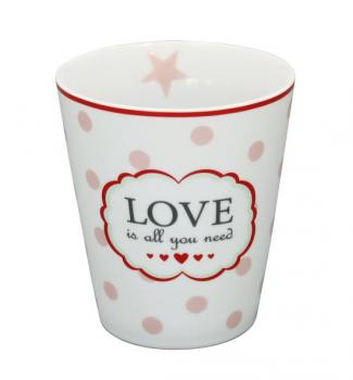 Happy Mugs - Love is all, white