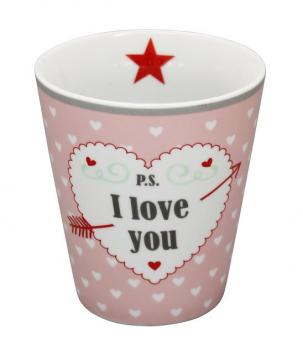 Happy Mugs - P.S.  … I love you