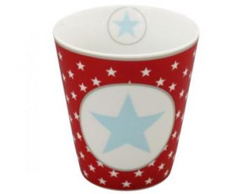 Happy Mugs - Red big star