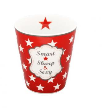 Happy Mugs - Smart, sharp, sexy, red