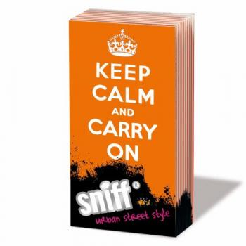 Keep Calm - Carry on - Sniff