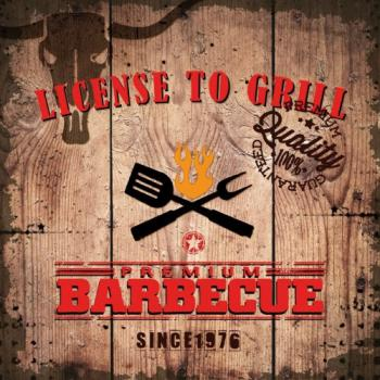 License to Grill - Servietten 33x33 cm