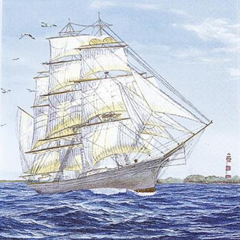 Sailing Ship - Servietten 33x33 cm