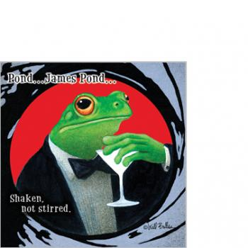 Shaken Not Stirred - Servietten 25x25 cm