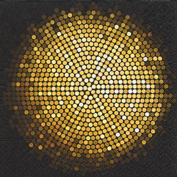Spangle circle - Servietten 33x33 cm