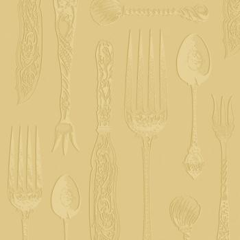 Tableware Embossed gold - Servietten 33x33 cm