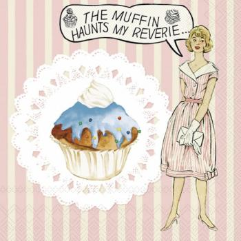 The Muffin - Servietten 33x33 cm