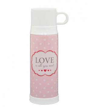 Thermosflasche - Love is all