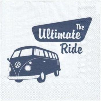 VW Bus T1, The ultimate ride - Servietten 33x33 cm